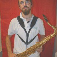 rnaud sax ténor musicien membre CA fanfare la-boucalaise harmonie