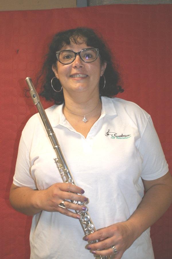 Corinne flute piccolo musicienne fanfare la-boucalaise harmonie musique
