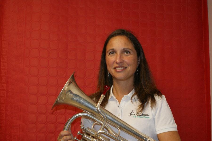 Aude musicienne saxhorn alto fanfare la-boucalaise harmonie musique