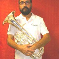 Eric euphonium tuba baryton membre ca musicien fanfare la-boucalaise harmonie musique