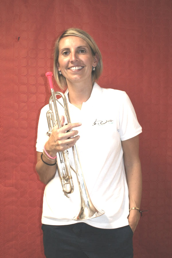 pascale trompette secretaire adjointe fanfare la-boucalaise harmonie musique musicien