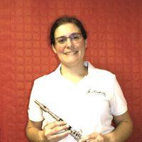 anais flute piccolo tresoriere fanfare la-boucalaise harmonie musique