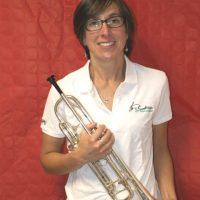 cécile trompette membre CA musicienne fanfare la-boucalaise harmonie boucau