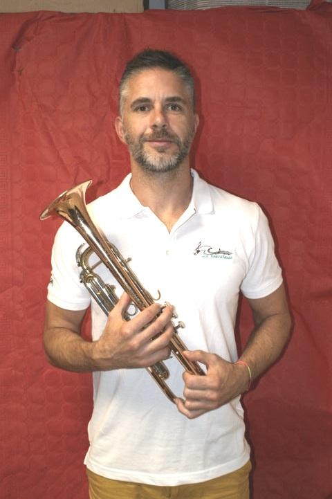 christophe trompette membre ca fanfare la-boucalaise musicien musique harmonie