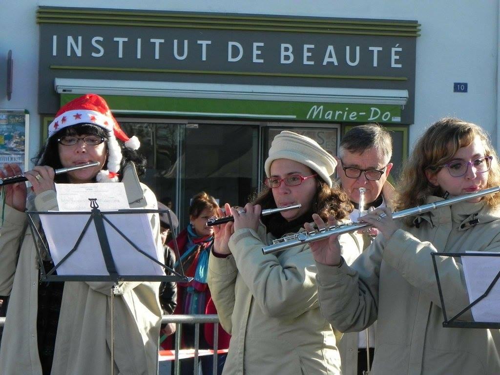 marché de noël boucau fanfare la-boucalaise musique harmonie bandas