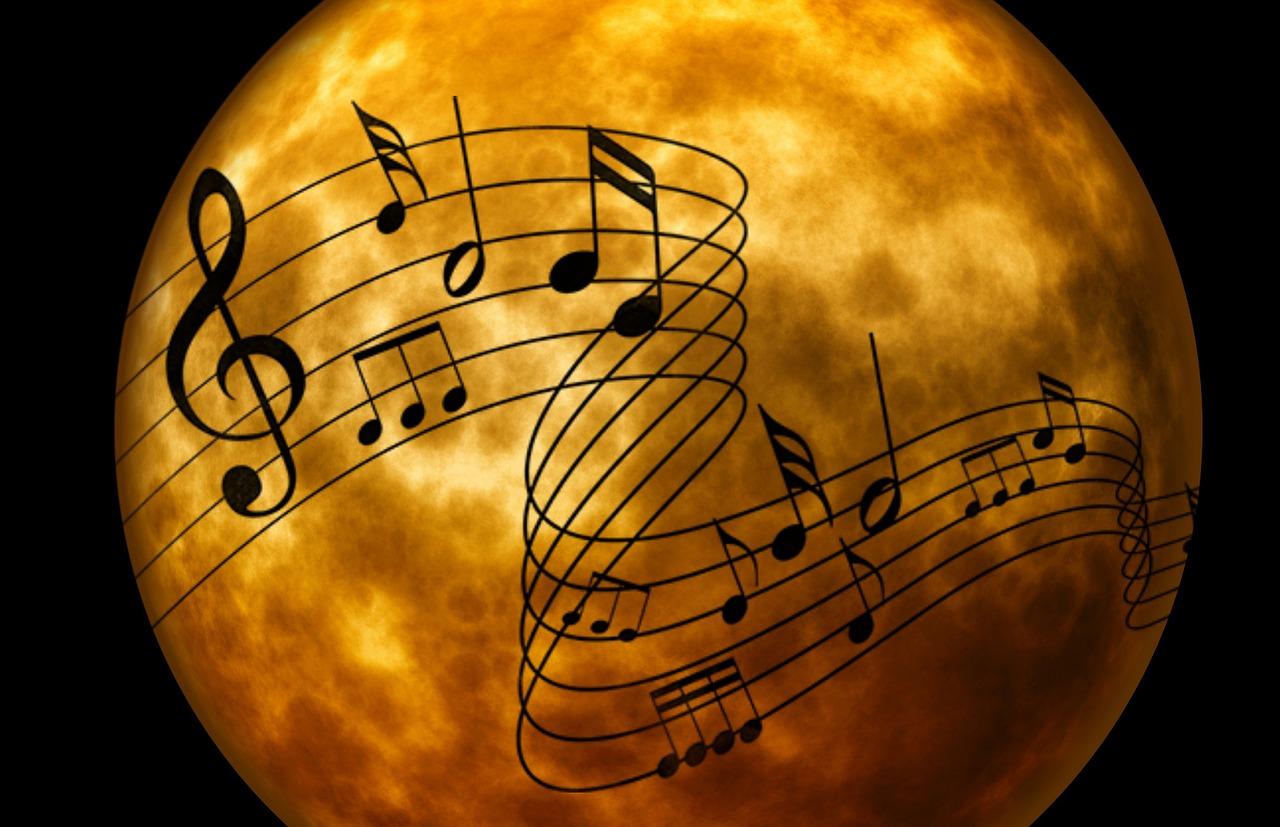 fond musique notes fanfare la-boucalaise harmonie musiciens